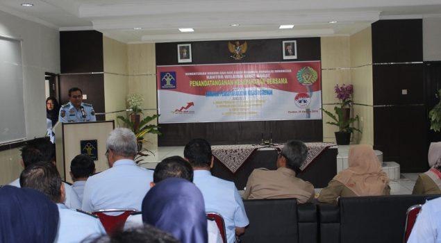 Lapas Cirebon Bangun Jejaring Pemasaran Hasil Karya WBP