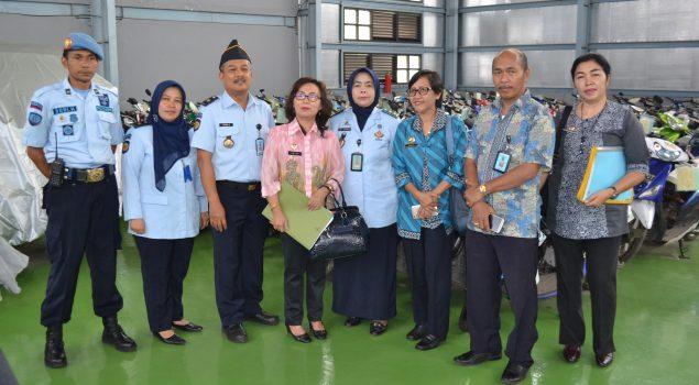 Tim Monev Ditjen PAS Puji Sarpras & Manajemen Rupbasan Bandung