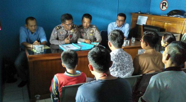 PK Balai Pemasyarakatan Lahat Berhasil Damaikan Klient Melalui Diversi