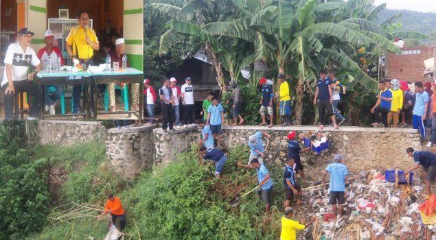 Gerakan Napi Peduli Bantu Pembersihan Kota Gorontalo