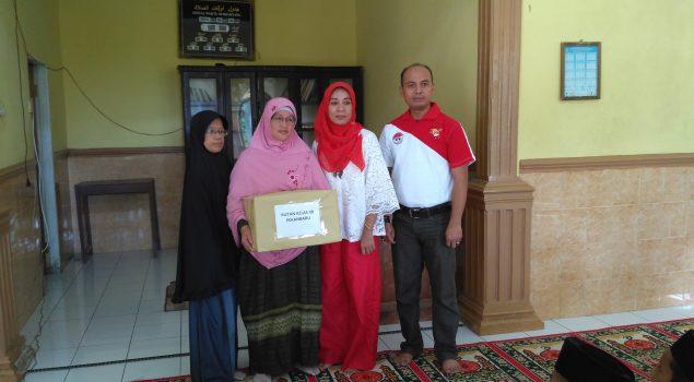 Rutan Pekanbaru Sumbang Bantuan Untuk Yayasan & Panti Asuhan Al-Fath