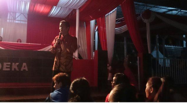Hadir di Jambore Narapidana, Anton Medan Beri Ceramah Motivasi
