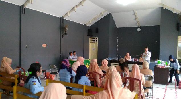 Sharing Ilmu Melalui Pertemuan DWP Lapas Narkotika Sungguminasa