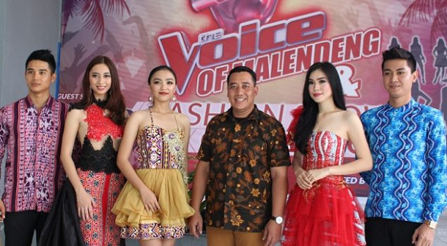 Semaraknya Fashion Show & The Voice di Rutan Manado