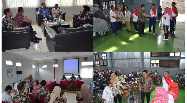 Susun Dokumen Perubahan Blue Print, Ditjen PAS & CDS Datangi Rupbasan Bandung