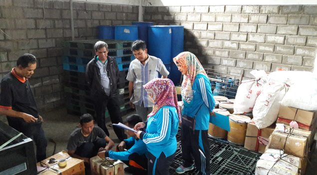 Rupbasan Bandung Teliti Basan/Basan Sebelum Penyimpanan & Pemeliharaan