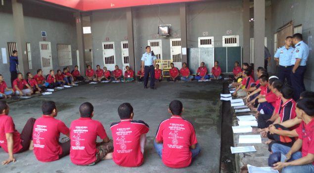 Rehab TC di Lapas Narkotika Lubuk Linggau Masuki Tahap Ke-4
