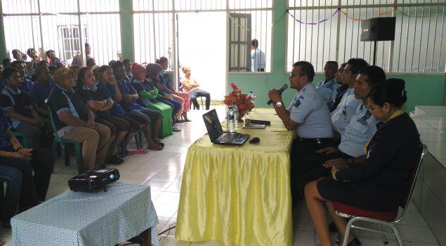 Rutan Ambon Perdana Gunakan E-Money di Maluku