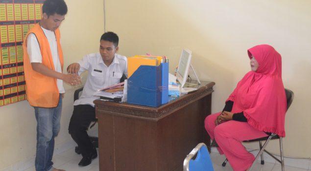 Di Lapas Kayu Agung Pengajuan PB dan CB Wajib Di Test Urine