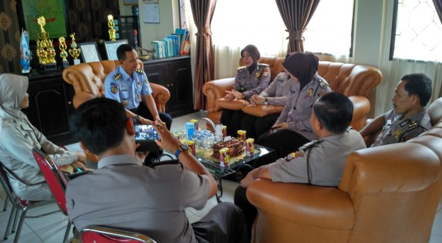 Koordinasi Lapas Narkotika Sungguminasa - Polres Gowa Tingkatkan Keamanan Lapas