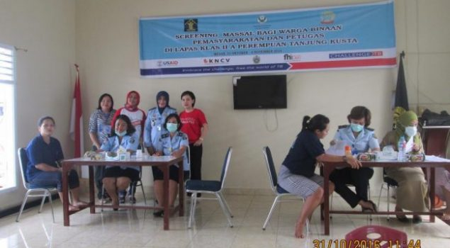 544 Warga Binaan Lapas Wanita Lakukan Screening TB