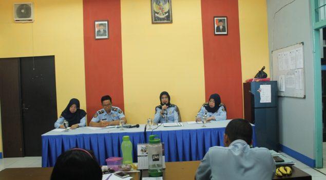 Rupbasan Jaktim Sosialisasikan Instruksi Menkumham tentang Pungli