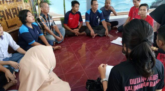 WBP Lapas Pekanbaru Kedatangan Calon Duta HIV/AIDS