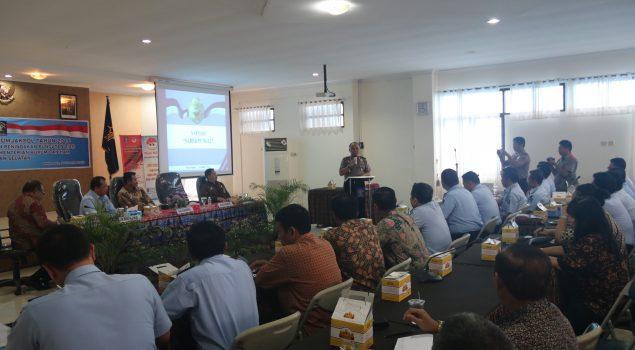 Dilkumjakpol Kanwil Kalsel Sosialisasikan Pencegahan & Penindakan Pungli