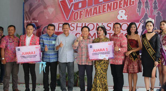 Final The Voice & Fashion Show Rutan Manado Berlangsung Seru