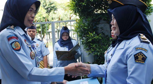 Kenaikan Pangkat Pegawai Topang Tugas & Kemajuan Rupbasan Jaktim