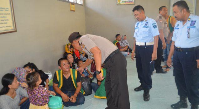 Koordinasi Lapas Watampone-Polres Bone Cegah Gangguan Kamtib di Lapas
