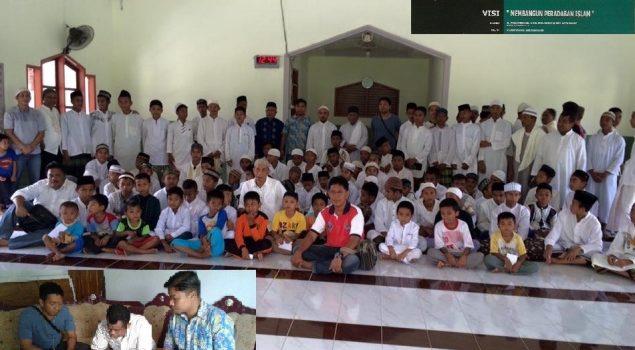 WBP Asimilasi Lapas Gorontalo Sambangi Pesantren, Sumbang Bahan Makanan