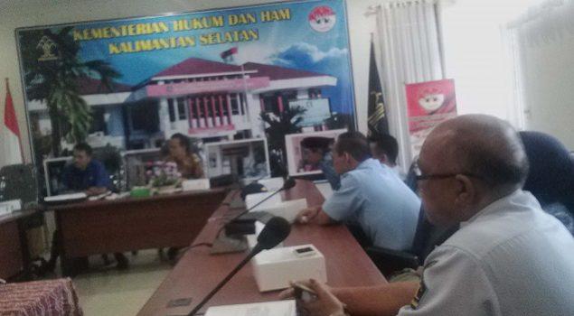 Empat Pegawai Rupbasan Banjarmasin Hadiri Monev Alumni Diklat