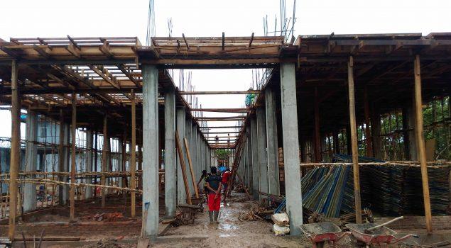 Progres Pembangun Lapas Banjarbaru Diatas Target yang Ditetapkan