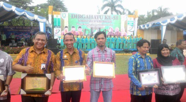 Lapas Tanjung Terima 2 Penghargaan Dari Pemkab Tabalong