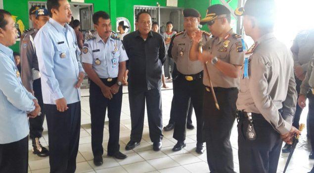 Kakanwil & Kapolda Kalsel Tinjau Keamanan di LPKA Martapura