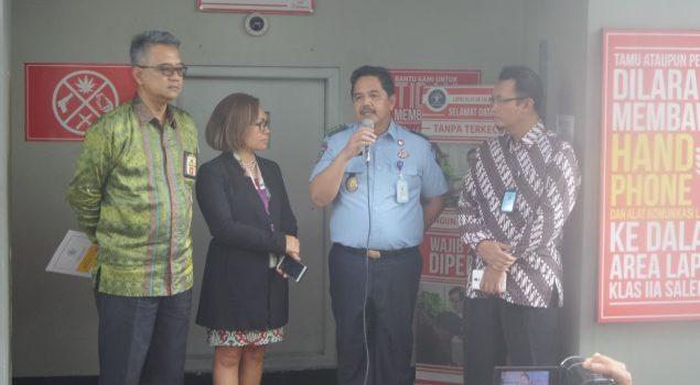 Lapas Salemba Terima Sandera Penanggung Pajak Rp802,6 juta
