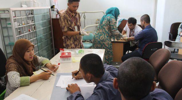 VCT Mobile Cegah & Kendalikan HIV/IMS di Lapas Cirebon