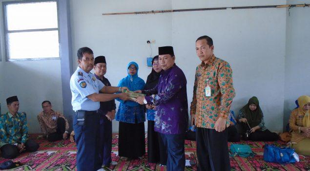 Rutan Prabumulih Dapat Bantuan Al Quran & Buku Keagamaan