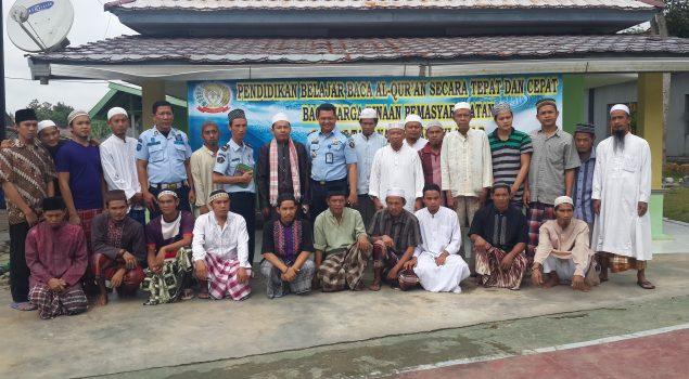 Pengajian Al Quran Cepat & Tepat Jadi Bekal WBP Rutan Baturaja