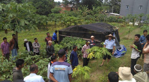 Gabungan Kelompok Tani Studi Banding ke Pondok Asimilasi Rutan Rangkasbitung