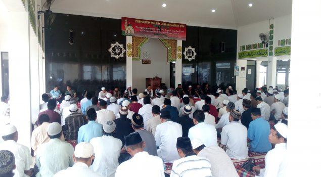 Bina Moral WBP, Rutan Depok Gandeng Yayasan At-Taubah