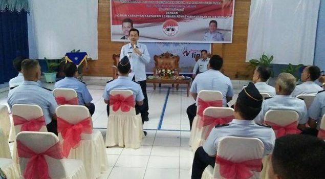 Kakanwil Sulut Puji Kebersihan Blok & Ruang Kerja Lapas Manado