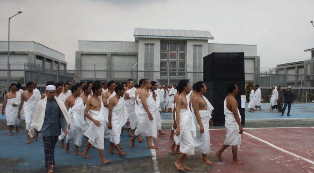 Manasik Haji Lapas Gunung Sindur Tingkatkan Keimanan WBP