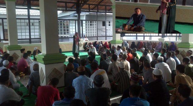 600 WBP Lapas Gorontalo Tutup Tahun 2016 dengan Maulid Nabi