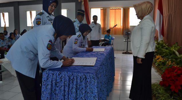 Rupbasan Bandung Sambut Slamet Widodo Sebagai Pimpinan Baru