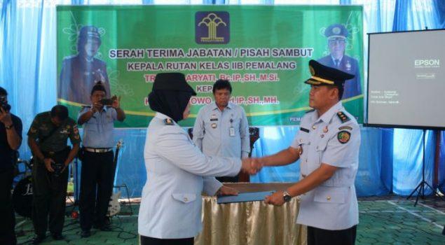 Hisam Wibowo Pimpin Rutan Pemalang