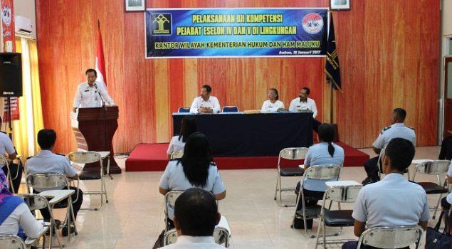 Uji Kompetensi Dukung Pelayanan Berbasis E-Gov Kanwil Maluku