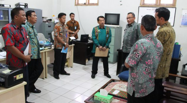 Dirjen PAS Tinjau Gudang & Sarpras Rupbasan Jakarta Utara