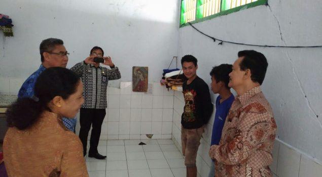 Kakanwil Sulut Sambangi LPKA Tomohon & Bapas Manado