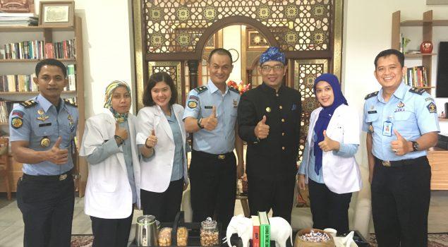 Karutan Bandung Sampaikan Permasalahan Kesehatan WBP ke Walikota Bandung