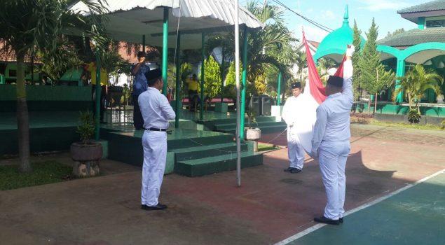 2 Bulan Dibina, Napi Teroris Lapas Malang Kibarkan Bendera Merah Putih