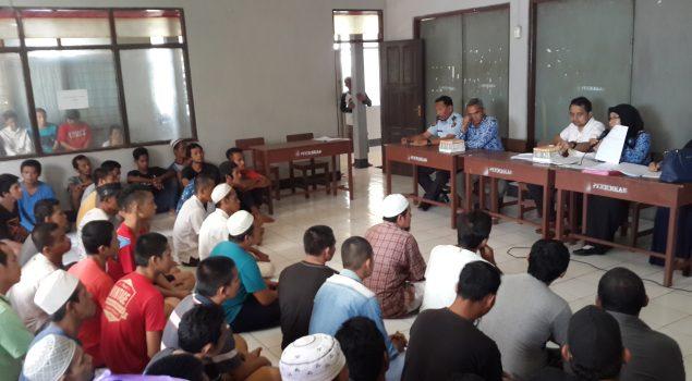 Cegah HIV/AIDS, 100 WBP LPKA Martapura Jalani VCT