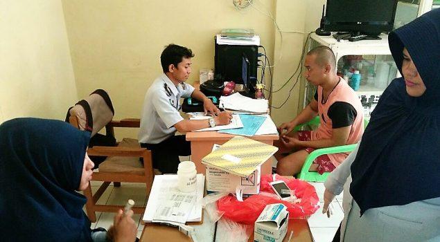 Cegah HIV & IMS, Lapas Narkotika Sungguminasa Lakukan VCT bagi WBP
