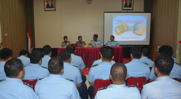 Bimtek Penjagaan Bekali Pemahaman Polsus Lapas Narkotika Jakarta