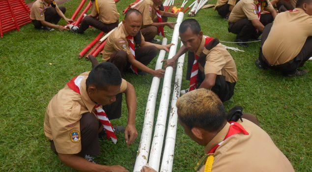 Camp Training Galakkan Kepramukaan Lapas Cipinang