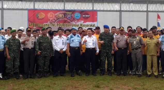 Kepala Rutan, Staf dan Napi Ikrar Bersama Antinarkoba