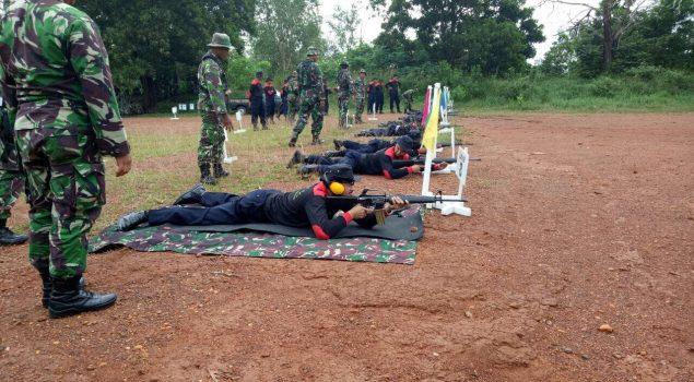 Puluhan Petugas Lapas Banjarmasin Asah Kemampuan Menembak