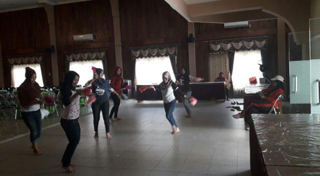 Latihan Tari Hilangkan Kejenuhan WBP Lapas Perempuan Martapura