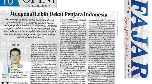 Mengenal Lebih Dekat Penjara Indonesia